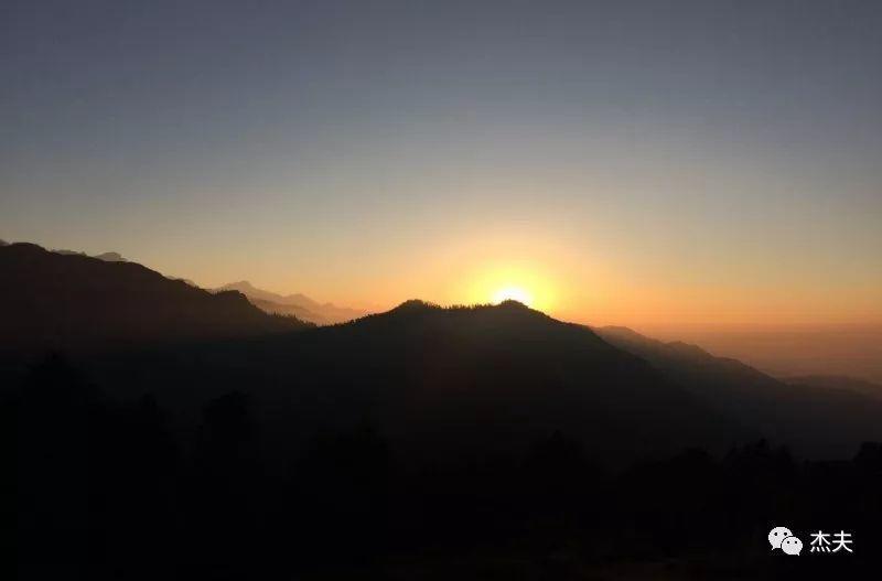 ACT徒步:尾声,在布恩山看日出(V)