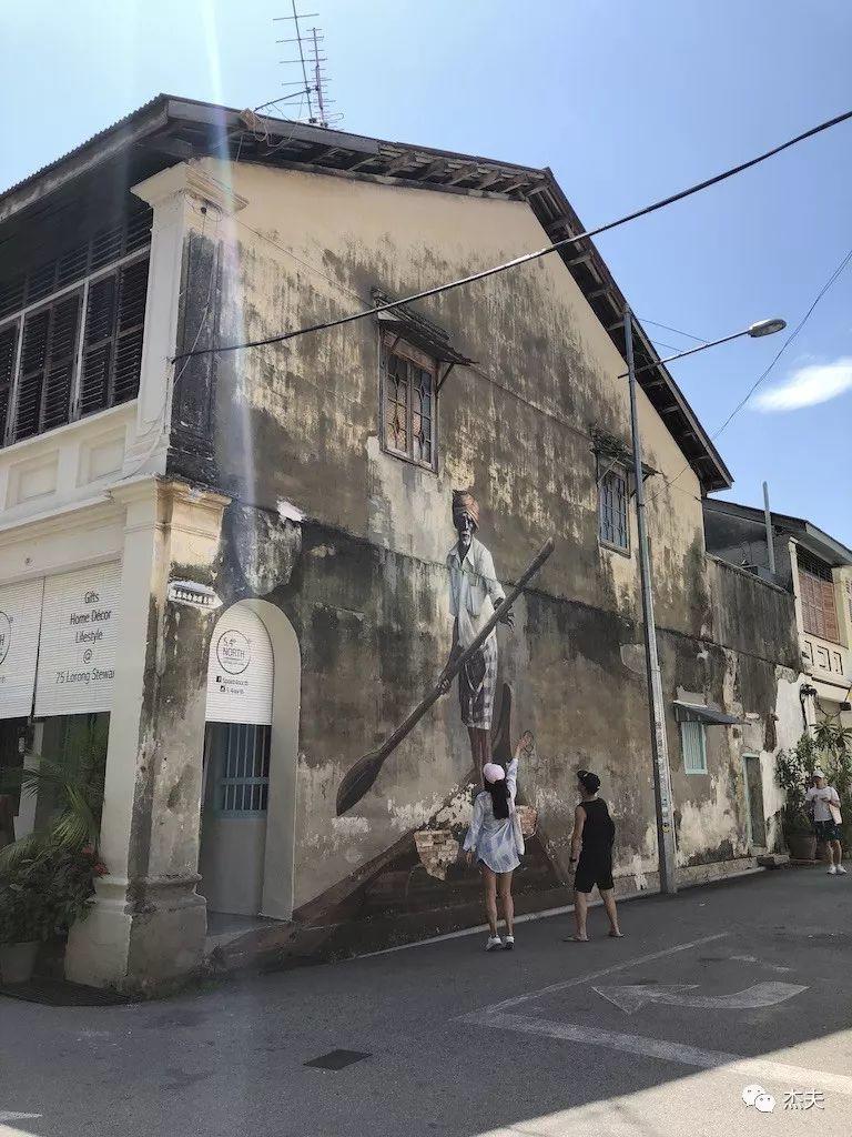 槟城,充满艺术的中国风小城