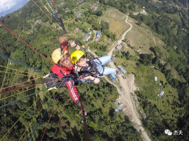 博卡拉滑翔伞,我要飞的更高