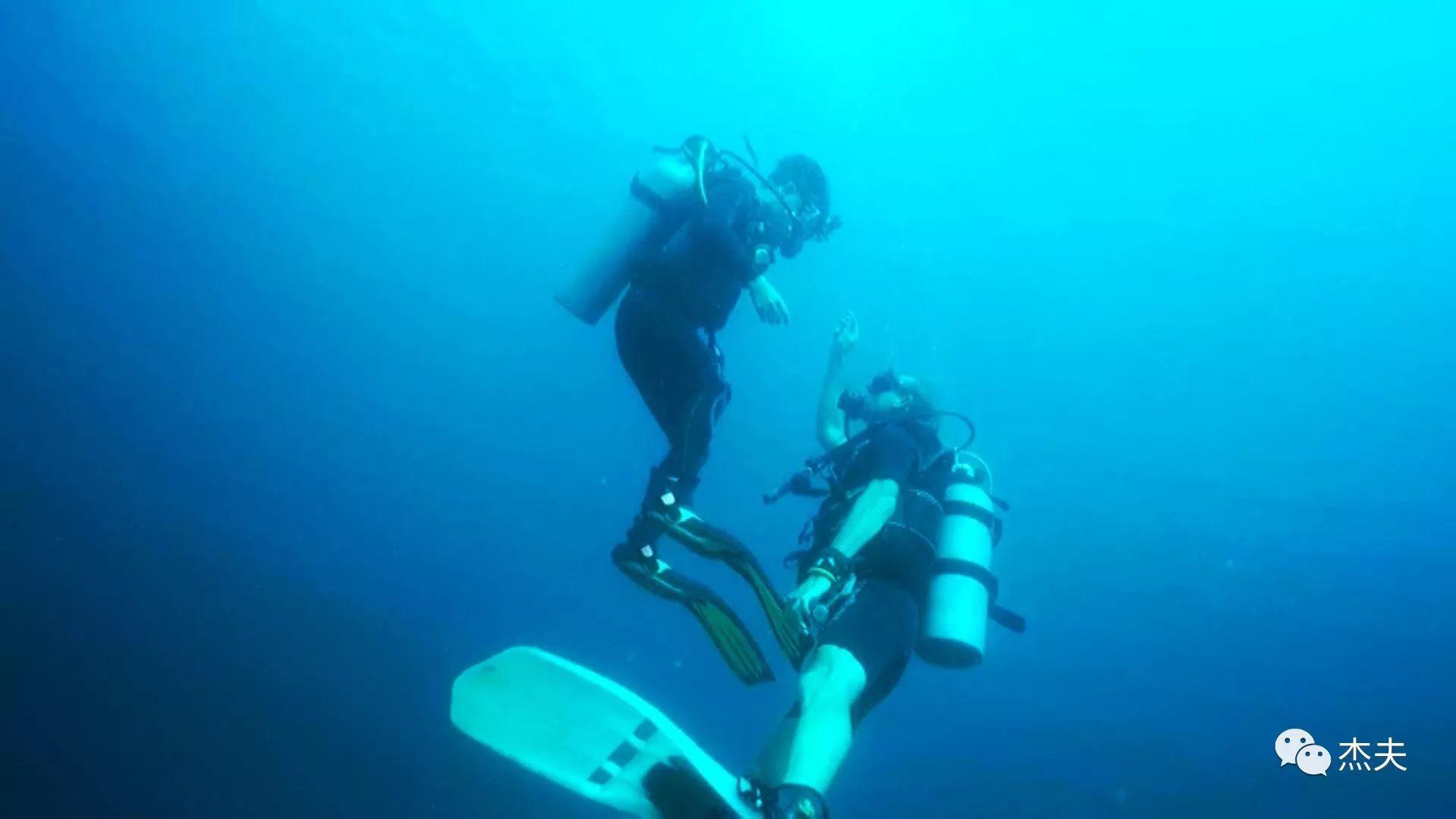 原来考潜水证是这样子的